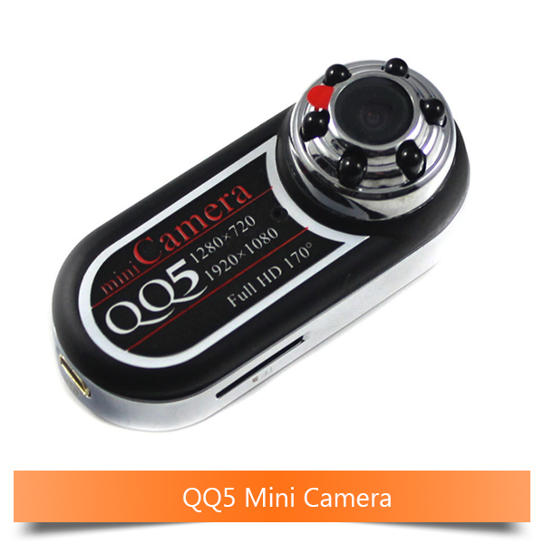 QQ5 Mini Camera Full HD 1080P 720P Infrared Night Vision DVR Small Camera Camcorder 12MP Webcam 170 Wide Angle Motion Detection