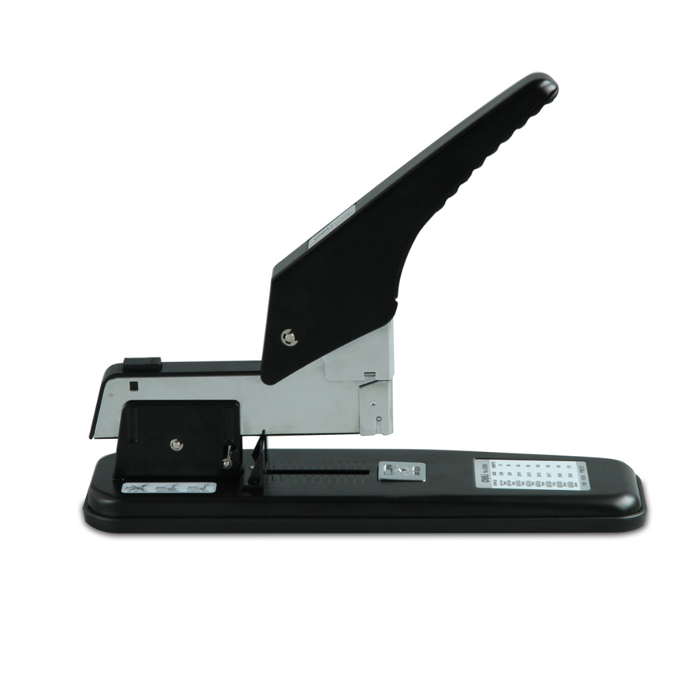 Deli Large Stapler 210 sheets thick heavy duty stapler office supplies 0399 210 sheets deli stationery thick layer deli 0383 heavy duty manual jumbo stapler large thickening effortless heavy duty stapler
