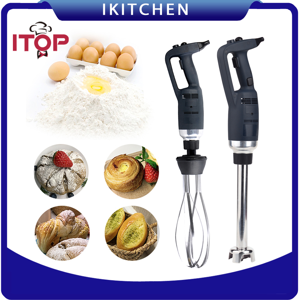ITOP 220W Blender with 160mm Sticker / 185mm Whisk Infinitely Variable Speed 4000~16000RPM Immersion Food Mixer glantop 2l smoothie blender fruit juice mixer juicer high performance pro commercial glthsg2029