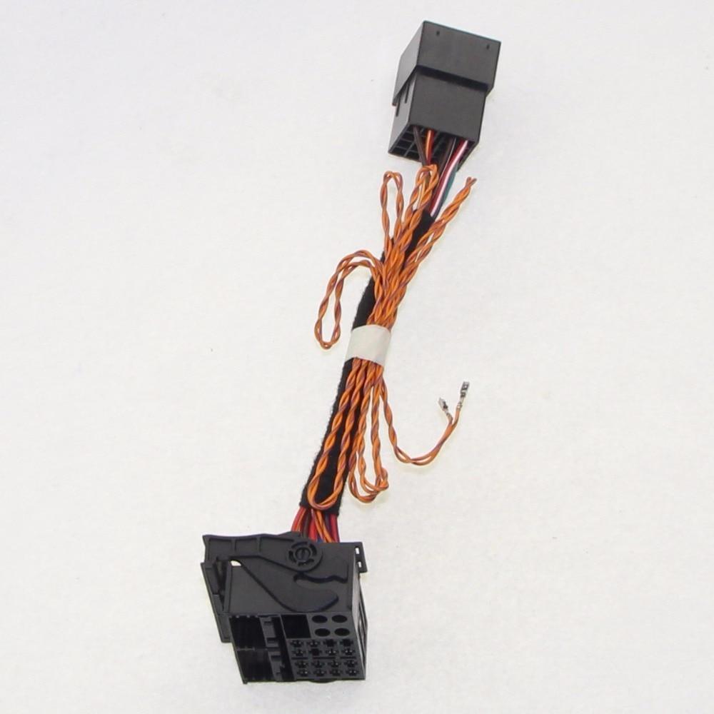ISO Nach Quadlock Canbus Adapter KABEL RCD330 RCD510 RCD310 RNS510 Umwandlung Kabel Für VW Polo Golf Jetta Tiguan Passat CC upgr