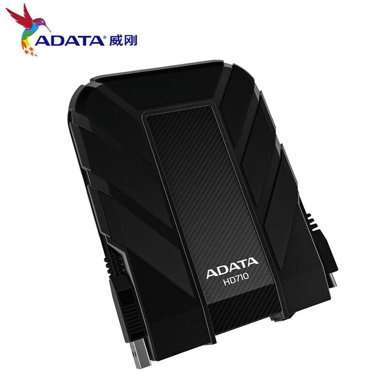 Chargeur externe HDD 1 to 2 to HD710 Pro USB3.1 2.5 pouces disque dur Portable Standard militaire antichoc IEC étanche à la poussière livraison gratuite