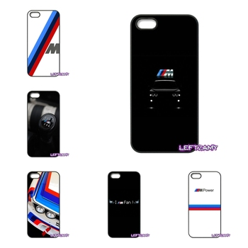 huge selection of 0fa2e b8f5a BMW M Power Hard Phone Case Cover For iPhone 4 4S 5 5C SE 6 6S 7