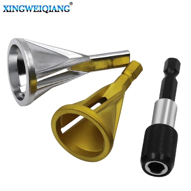 Stainless Steel Deburring External Chamfer Tool High Strength Hardness Drill Bit Remove Burr