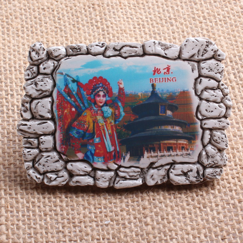 Resin China Traditional culture Beijing Opera souvenir Gifts items ...