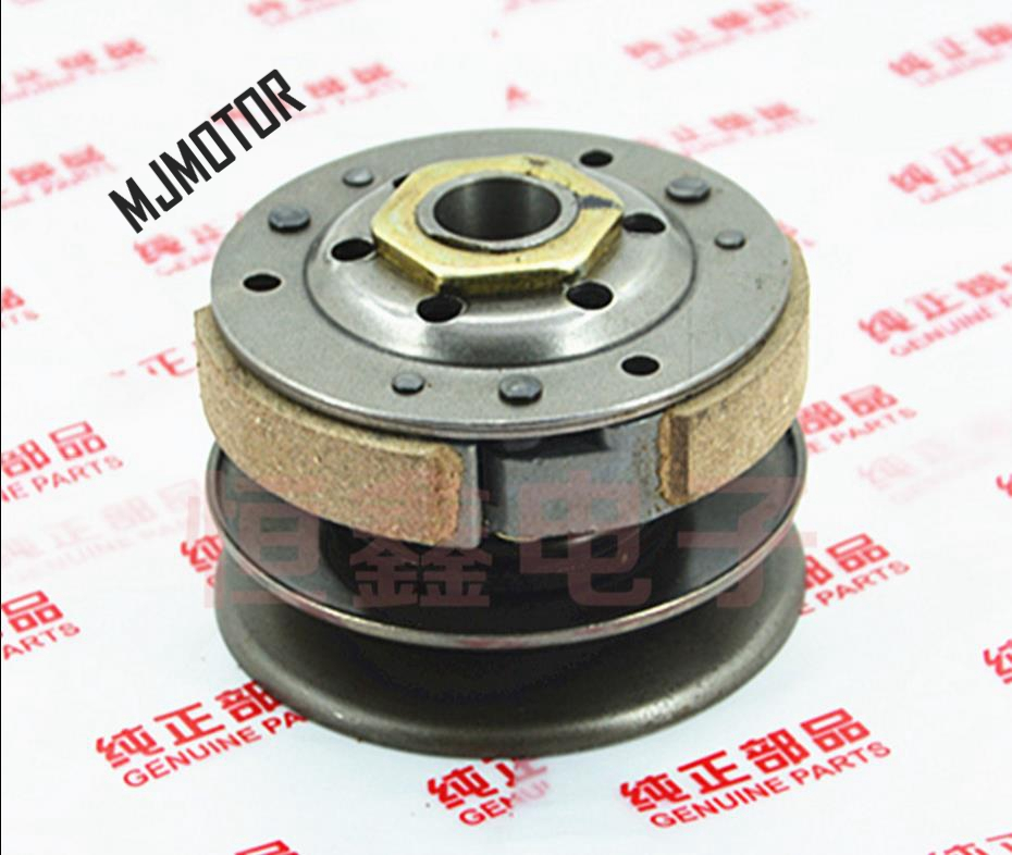 цена на DIO Rear Clutch Assembly For Chinese Scooter Honda DIO 50cc 2stroke ZX Engine Lifan QJ 50 Keeway Spare Part