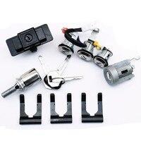 LARBLL Zündung Handschuh Box Reserverad Türschloss Zylinder & Key Set MR259111 fit für Mitsubishi Pajero Montero MK2 2nd v32 4G54|Auto-Schalter & Relais|Kraftfahrzeuge und Motorräder -