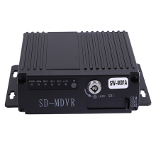 SW-0001A SD Remote HD 4CH DVR Realtime Video Recorder for Car Bus RV Mobile HD 4CH DVR High Quality DVR/Dash Camera