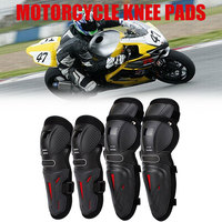 4pcs Motorcycle Knee Pad Cycling Kneepad Pad Universal for Motorcycle