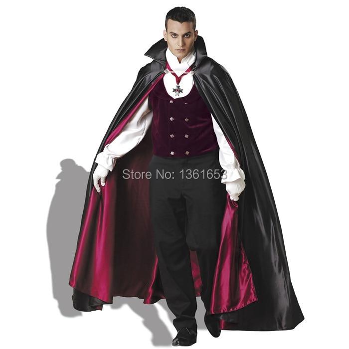 classic Halloween Cosplay film Dracula vampires dress uniform temptation COS Halloween men cosplay costume