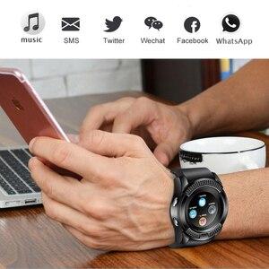 Image 5 - WISHDOIT Smart Digital Watch Vibration Alarm Clock LED Color Screen Fitness Pedometer Bluetooth Fashion Smart Phone Watch Camera