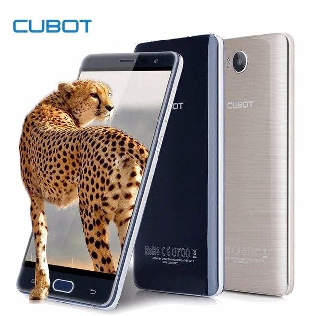 Оригинал Cubot Cheetah 2 MT6753 Окта Ядро Android 6.0 Смартфон 5.5 дюймовый HD Сотовых Телефонов 13.0MP 3 ГБ RAM 32 ГБ ROM Мобильный Телефон