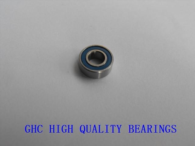 Free shipping 100PCS 5x10x4mm MR105 2RS ABEC3 5x10x4 Motor bearing Model bearing