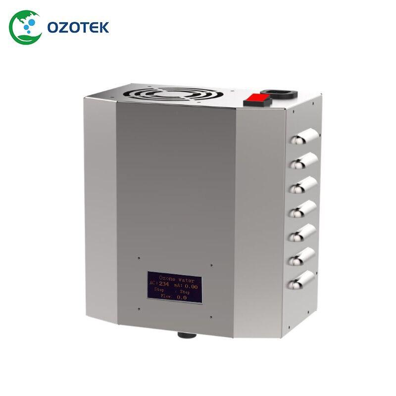OZOTEK intelligent ozone water machine 220V/110V 5G/H used on fruits and vegetable free shipping