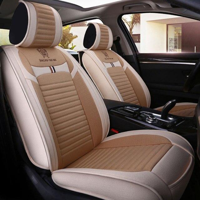 Car Seat Cover Seats Covers For Nissan Rogue Sentra Sunny Teana J31 J32 Tiida Versa X Trail 2017 2016