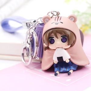 Image 3 - Kawaii Love Live Keychain Minami Kotori Kousaka Honoka Maki Nishikino Cos Himouto! Umaru chan Doma Umaru PVC Figure Pendants Toy