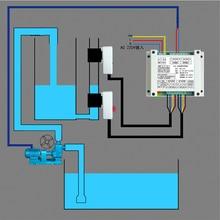 C362 контроллер высокого и низкого уровня воды водонапорная башня бесконтактный датчик уровня жидкости котел Поплавковый Выключатель Автоматический водяной Пум
