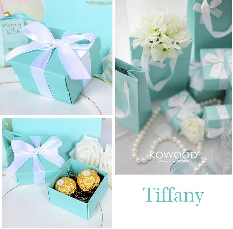 10pcs Candy Box Tiffany Blue Theme Wedding Favor Bo Christmas Tree Supply Decorations In Gift Bags Wring Supplies From Home Garden On