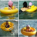 Brand new High quality Inflatable Baby Float Seat Boat Tube Ring Rubber Circle Swim Swimming Pool Portable accessories