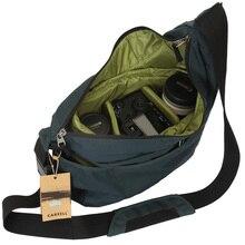 をcareell C2028 高品質のバックパックトロリーバッグワンショルダーバックパック傾斜肩全体カメラビデオ写真バッグ