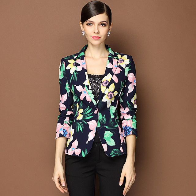 9e7dae00155ea Autumn New Fashion Ladies  Blazers