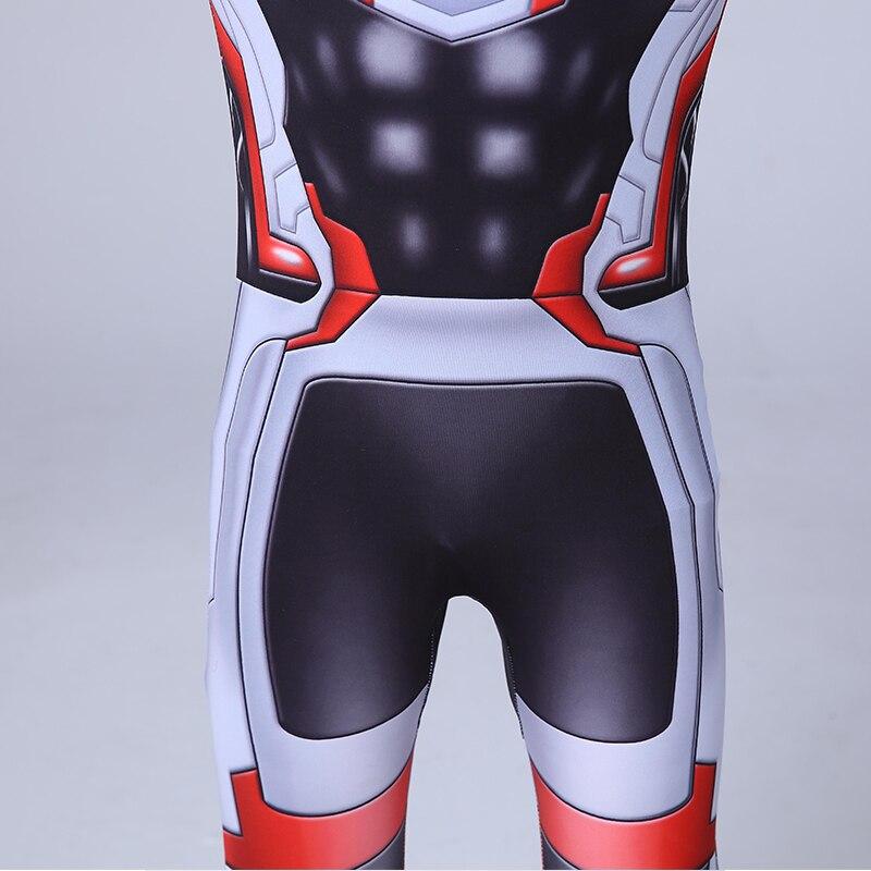 Avengers Cosplay Costumes Men Jumpsuit Kids Adult Boys Girls Halloween Party Avengers Superhero Bodysuit