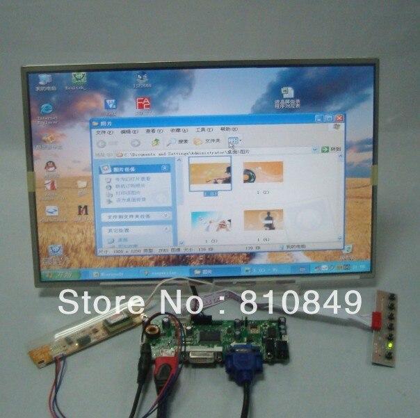 HDMI/DVI/VGA ЖК-плата контроллера + 15.4 дюймовый LP154WX3 LTN154W11280 * 800 жк-панель LTN154W1-L01 LTN154X3-L01 N154I3-L02 LP154W01