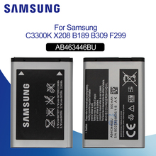 Original Battery For SAMSUNG S139 AB463446BU 800mAh Samsung M628 X520 X208 F258 E878 E1200M E1228 Replacement Phone