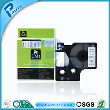 6mm blue on white dymo tape 43614 compatible dymo D1 tape for dymo label maker