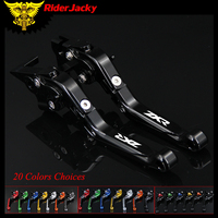 RiderJacky 1 Pair Motorcycle Folding Extendable Brake Clutch Levers For Kawasaki ZXR 400 ZXR400 all years