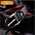 New Temperament and luxury combined belts brand CK&ICE pin Buckle men fashion  Belts for Men Casual male leather belts 2017