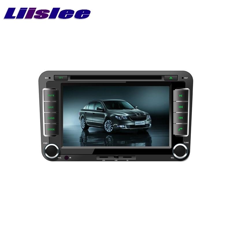 For Skoda Octavia II / III / Fabta / Superb LiisLee Multimedia TV DVD GPS Audio Hi-Fi Radio Original Style Navigation Advanced
