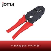 Купить с кэшбэком WX-H456 crimping tool crimping plier 2 multi tool tools hands Ratchet Crimping Plier (European Style)