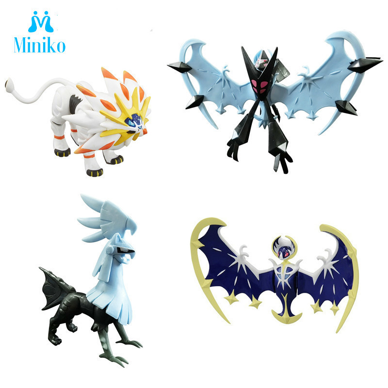 Solgaleo Lunala Big Size Anime Cartoon Action Figures Collection Model Toy(China)