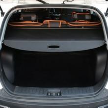 Задний хвост загрузки Багажника Грузовой Обложка щит безопасности тенты крышка отделка шт. 1 шт. черный для Subaru Outback 2015 2016 2017 2018