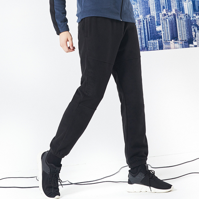 Pioneer camp new winter thick fleece sweatpants men brand clothing letter embroidery warm trousers male quality pants AZZ801373 4