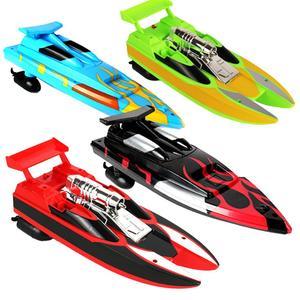 Image 1 - ワイヤレスリモコン防水スーパーミニ電気高速ボート船