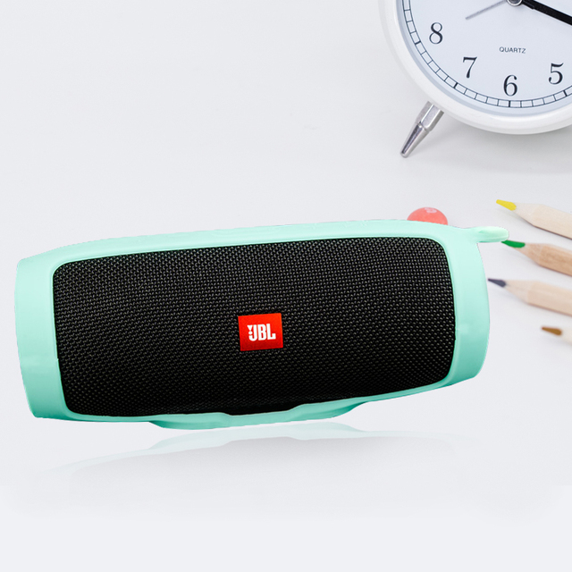US $7 89 30% OFF|Liboer Silicone Sling Cover Case for JBL Charge 3 Portable  Soft protective Cover for Charge3 Black Green Red Blue-in Speaker