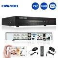OWSOO 8 Canais H.264 Rede de Vigilância CCTV DVR 960 H D1 DVR Recorder Suporte iOS Android Vídeo/Gravação de Áudio Controle PTZ