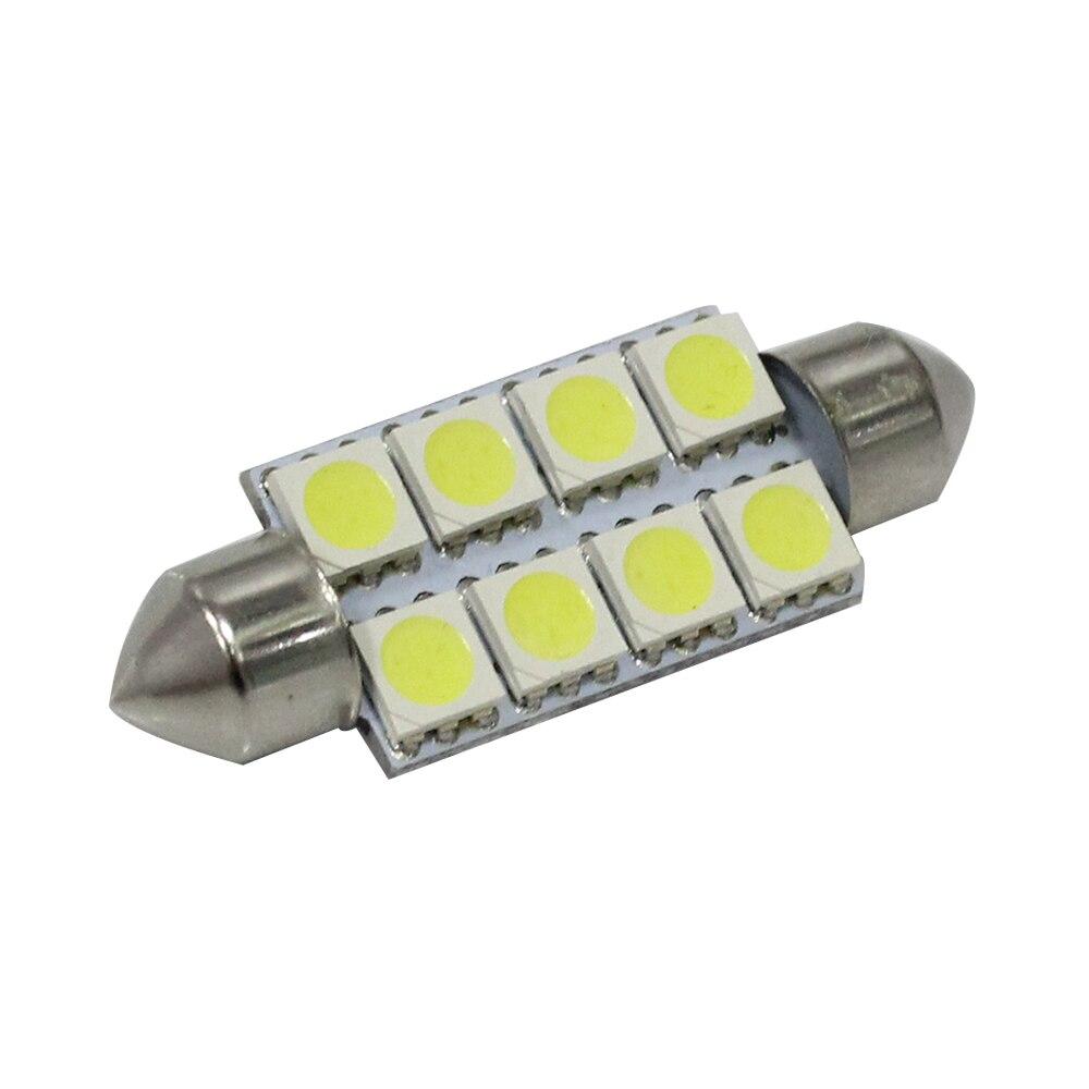 6SMD 5050 C10W SV8.5 Λυχνίες LED Ψυχρού Λευκού - Φώτα αυτοκινήτων - Φωτογραφία 2