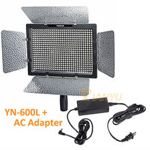 YONGNUO YN-600, YN600 600 LED Light Panel + AC Adapter 5500 Karat Led-videoleuchte mit Ladegerät