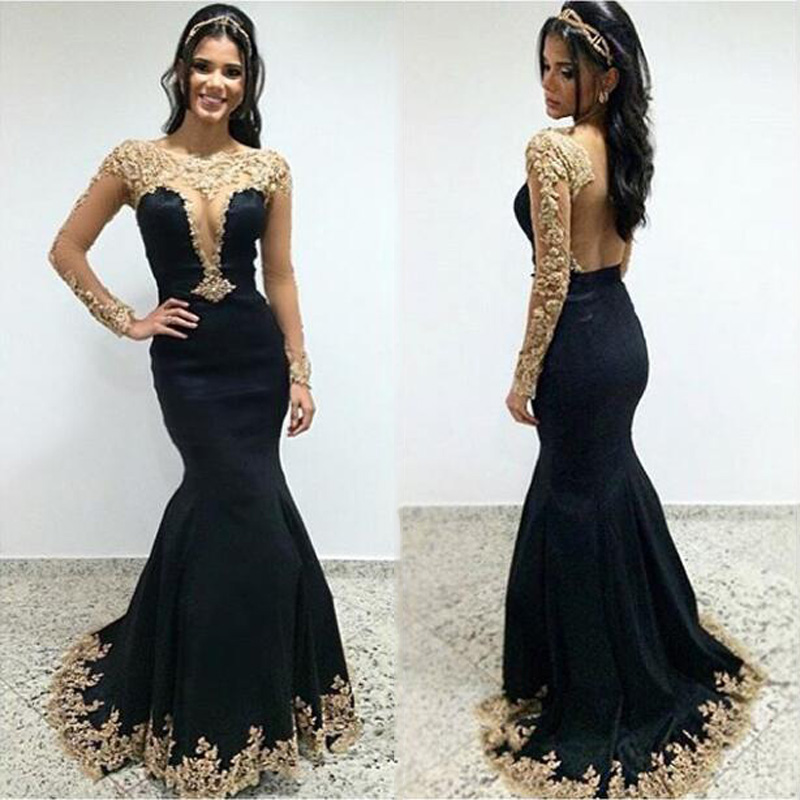 Popular Lace Gold Prom Dress-Buy Cheap Lace Gold Prom Dress lots ...