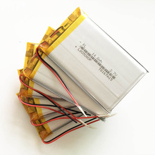 10 pcs 3.7V 4000mAh Lithium Polymer LiPo Rechargeable Battery For Power bank PSP PAD protable tablet PC laptop keyboard 805080