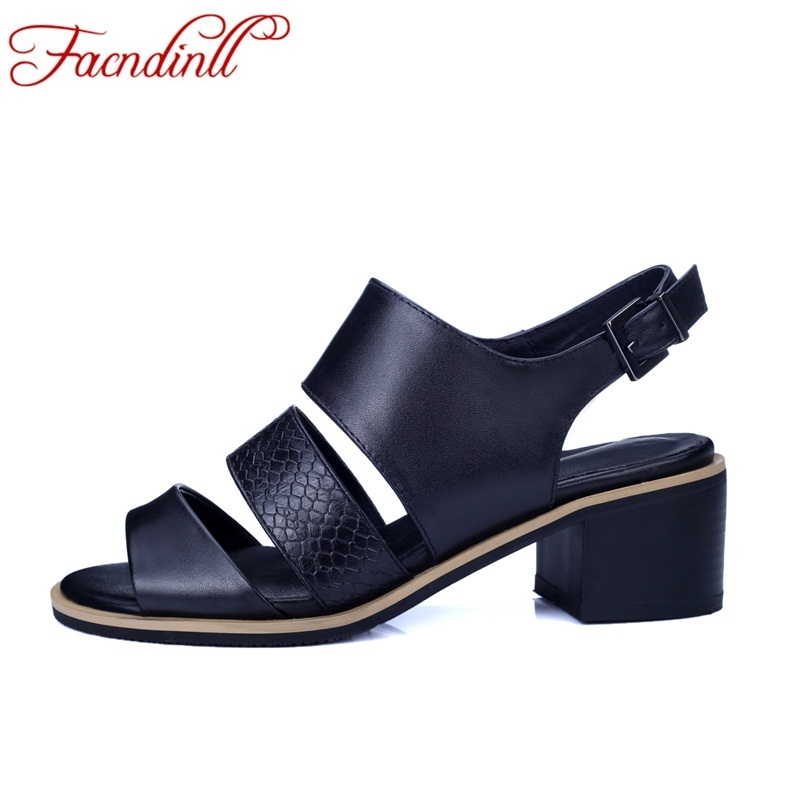 FACNDINLL women sandals summer black shoes sexy open toe sandalias gladiator sandals women ladies high heel dress casual shoes ethnic shoes genuine leather embroidery shoes women chinese 2017 summer gladiator block high heels casual open toe ladies black