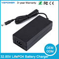 32.85V 1A 1.5A 2A Smart LifePO4 Battery Charger For 9S 28.8V LifePO4 Battery