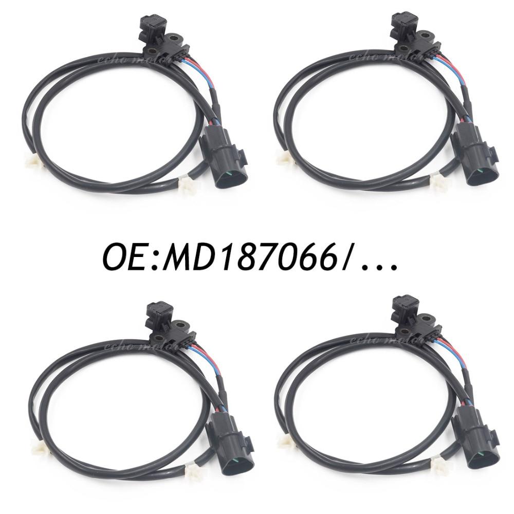 4PCS Crankshaft Position Sensor For DODGE mitsubishi INFINITI I35 MD187066 J5T25073 5S1716,PC50,180-0298,65057,SS10108 продажа mitsubishi i в хабаровске