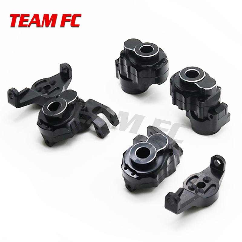 TRX4 OP upgrade parts Front Caster Blocks Portal Drive modified steering cup C seat steering rear axle modification S164