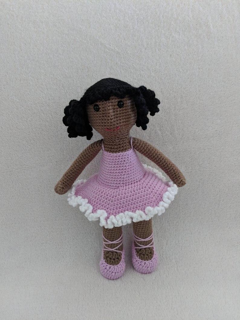 crochet toys crochet amigurumi doll girl model number TM041301