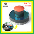 TJ copo de tinta para impressora da almofada elétrica Diâmetro: 70mm