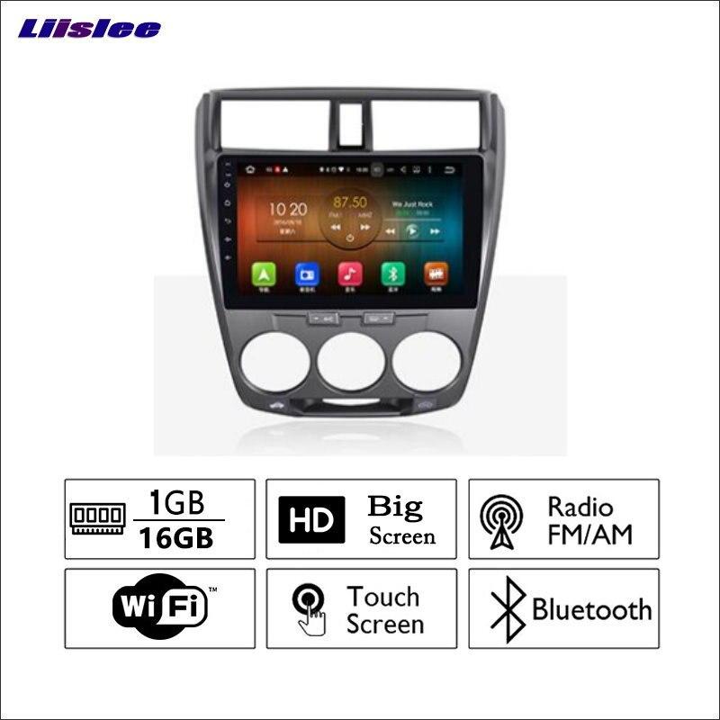 Liislee для Honda Classic 2005 ~ 2015 автомобиля Радио GPS аудио видео мультимедийный плеер wiifi DVR навигации Android Системы без cd dvd