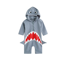 Girls Swimsuit Toddler Boys Spa Swimwear Summer Baby Kids Beach Wear holiday clothes Bathing Suit Hooded